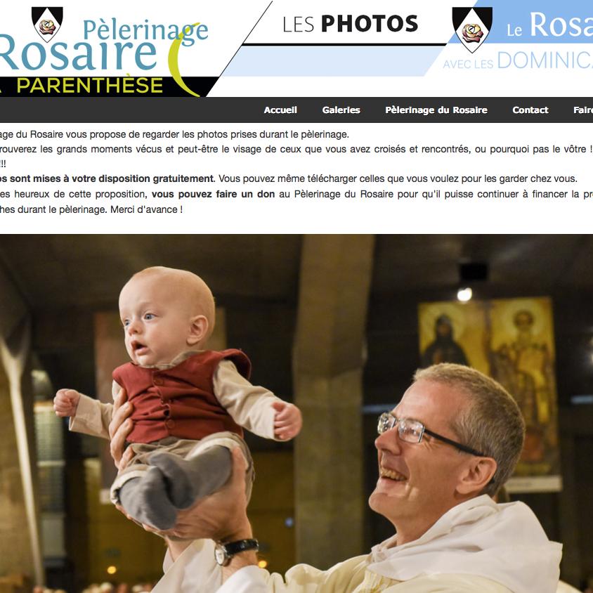 Galerie photos du Rosaire