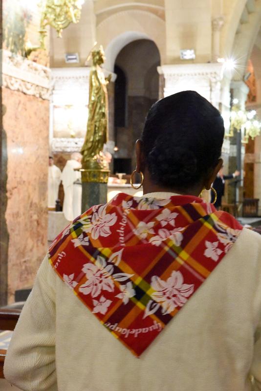 Pèlerine de la Martinique